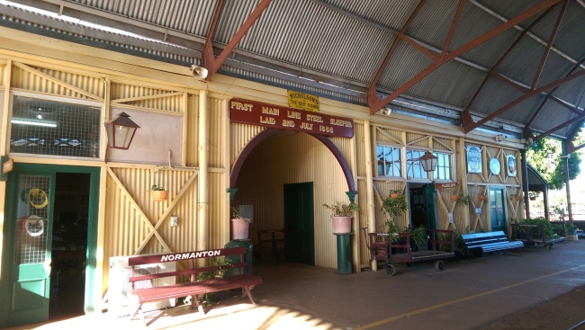 Normanton Station, now a museum.