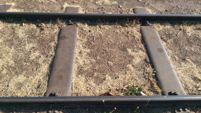 Earth filled steel sleepers Almost all still there 130 years after being laid. It seems like the man was right!