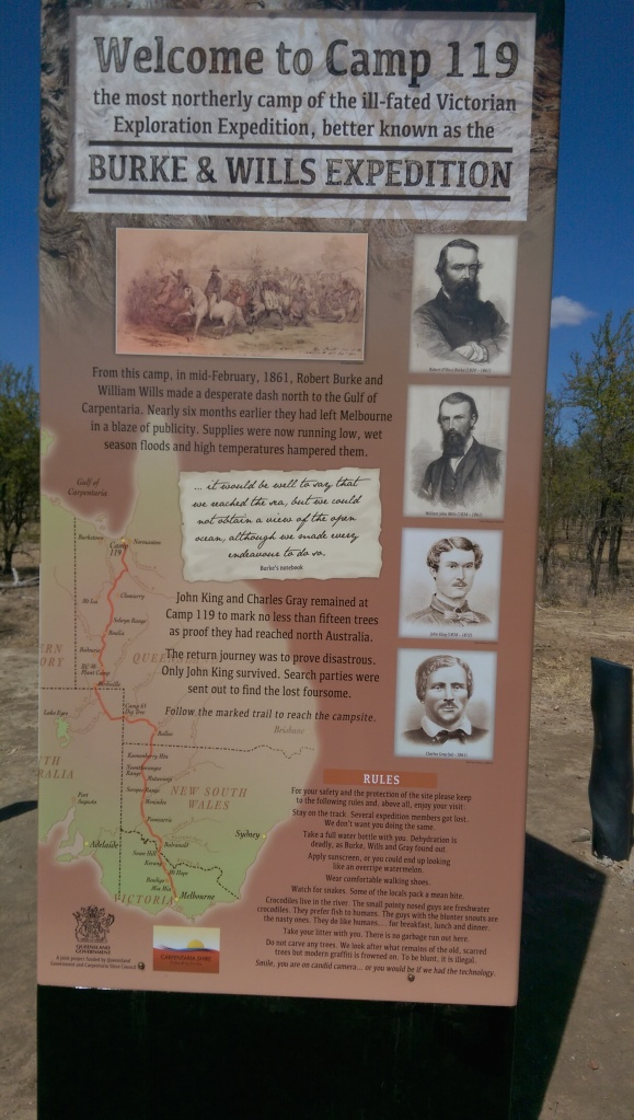 The Burke Highway is named after the leader of this ill-fated expedition.