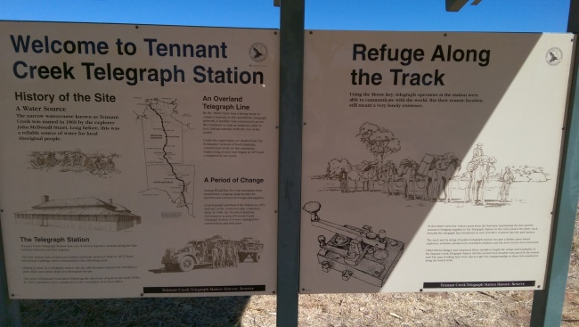 A bit of info on the telegraph line.