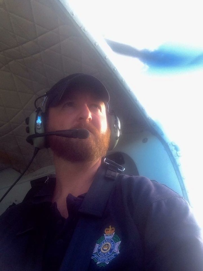A selfie of Brad, the SAR coordinator.