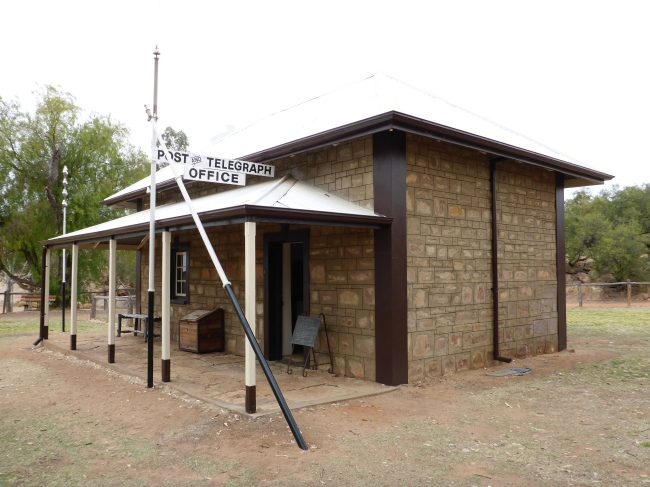 One of a whole complex of buildings at the Telegraph Station. They had to be self sufficient in many ways.