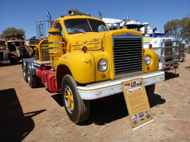 Mack B615 V8. A very popular truck.
