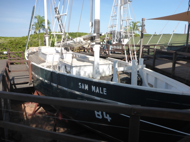 The Sam Male, Pearl Lugger.