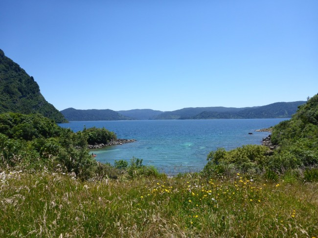 Lake Waikaremoana.