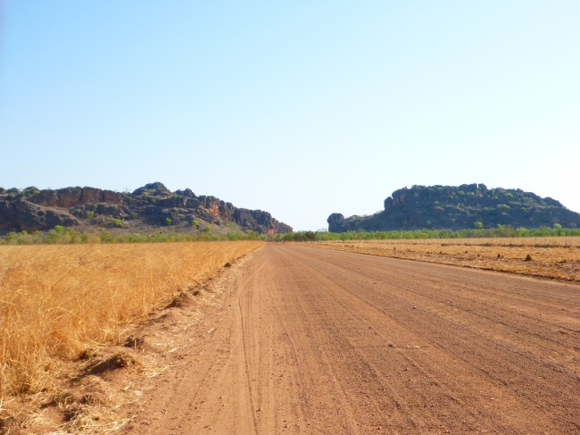 The Gibb River Road cuts through the Leopold Range.