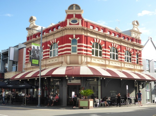 Typical Freo building.