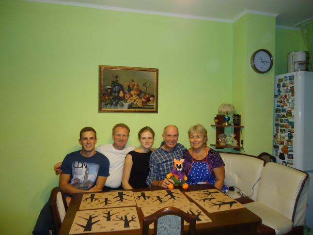 The Gogolev family. Dimitri, Vadim, Masha, Elena.