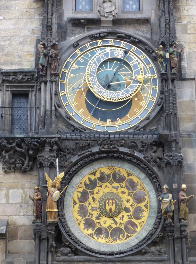 The fabulous astronomical clock.
