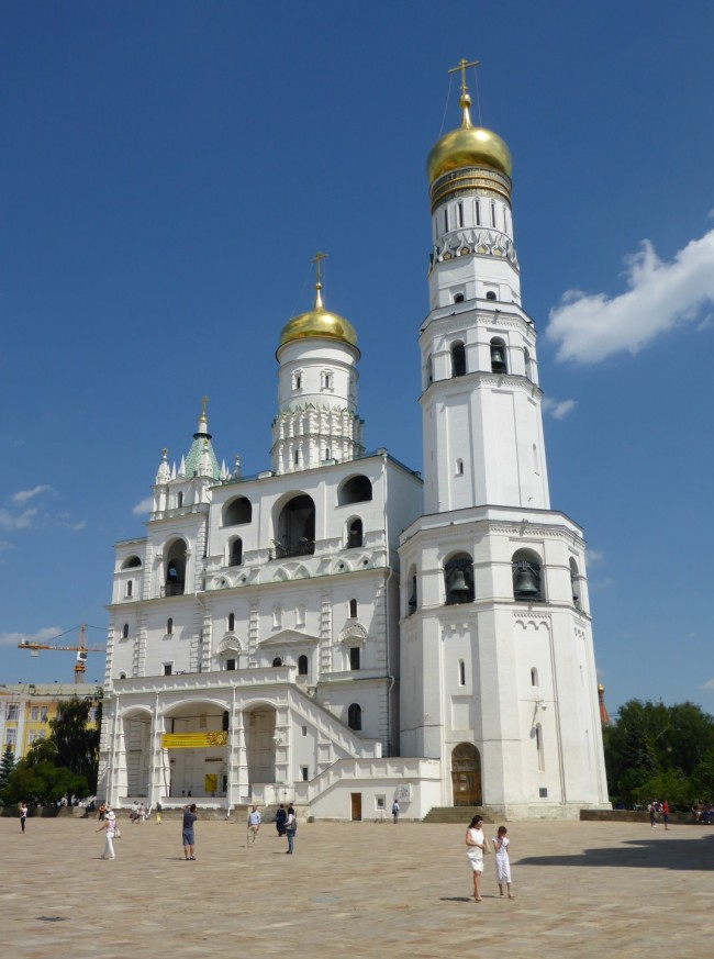 The Assumption Cathedral and the Ivan the Great bell tower.