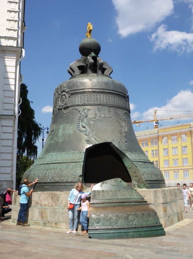 The Tsar's bell - 200 tons.