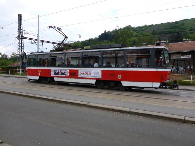 A pretty Prague tram.
