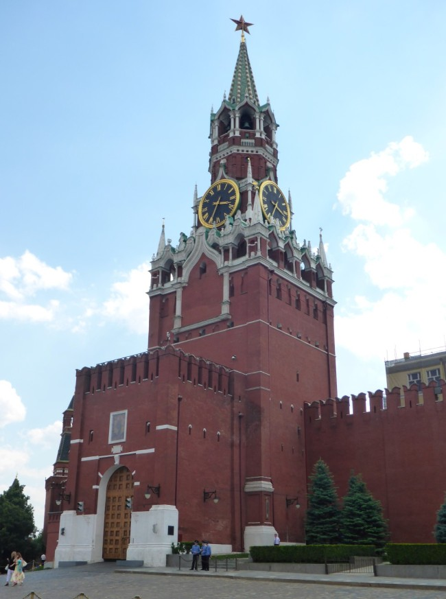 The Trinity Tower, Moscow Kremlin.