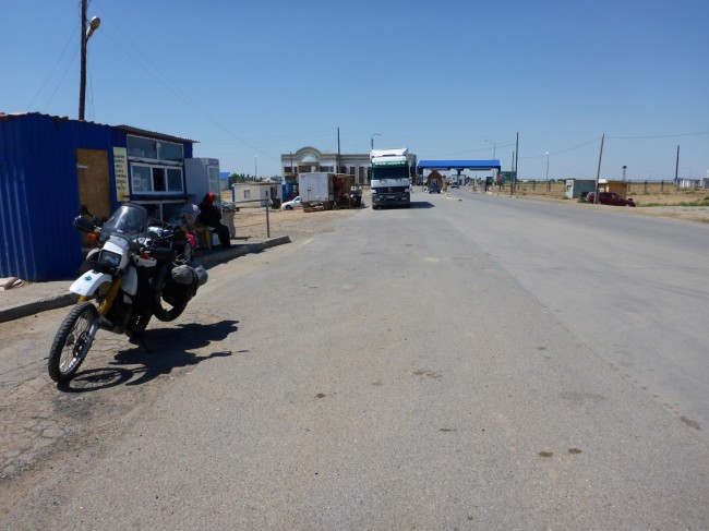 Kazakh/Russian border.
