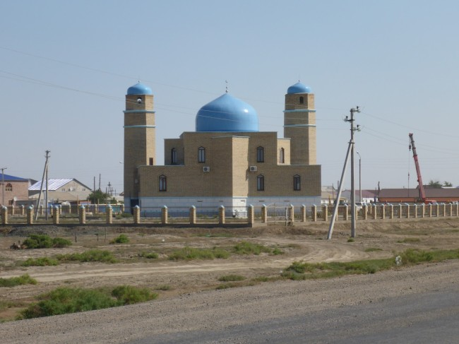 One of the few mosques I saw.