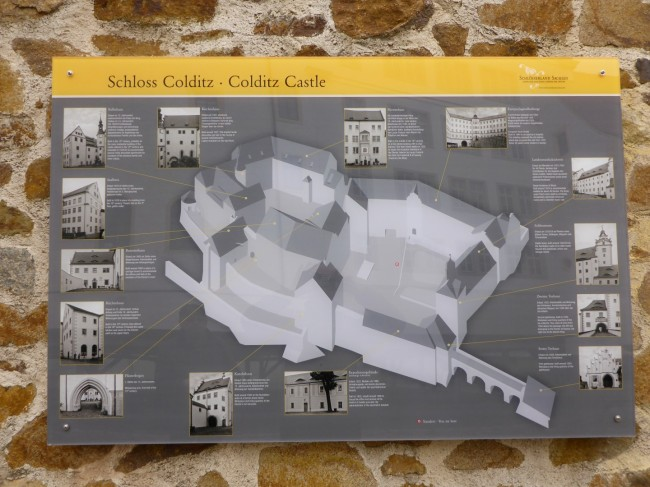 The layout of the castle.