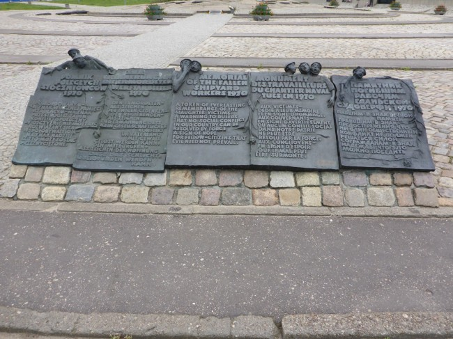Monument to the Polish People who fought against the communist regime.