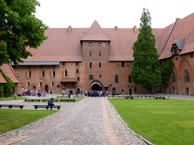 An external view of the castle.