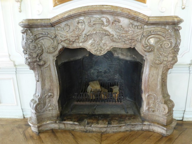 One of the 200 fireplaces that still remain.