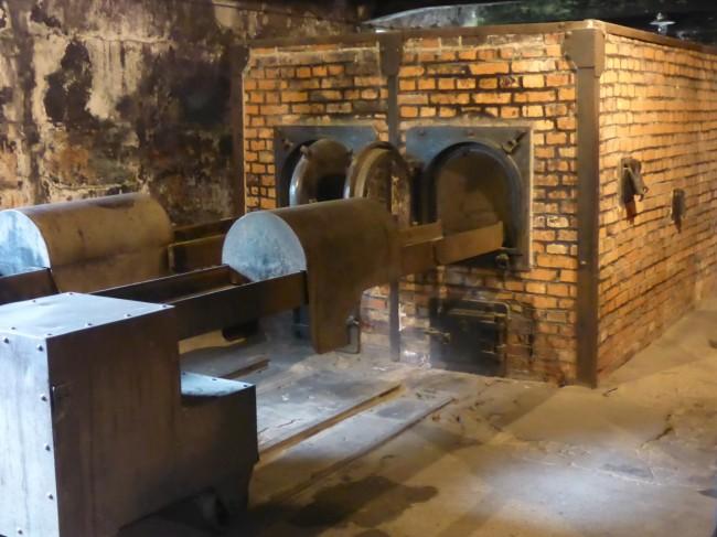 Crematorium ovens.