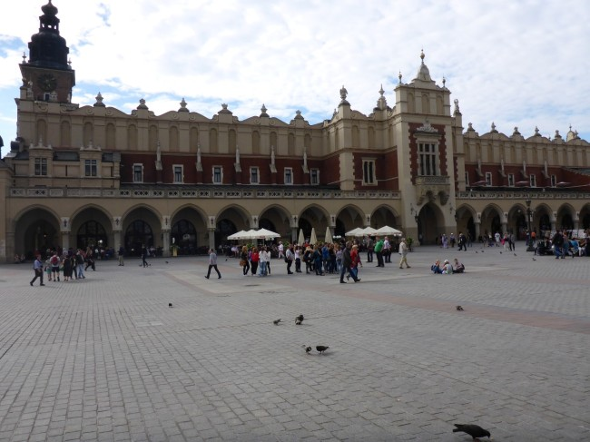The spectacular Cloth Hall