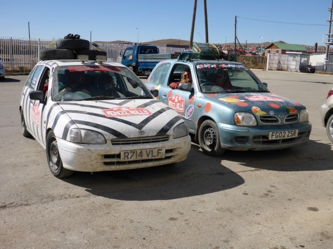 'Rally' cars. Just as unsuitable as the Honda XBR.