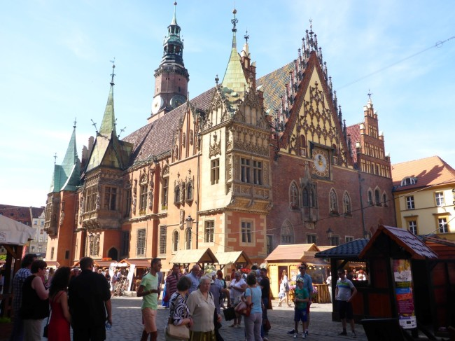 Gothic Old Town Hall.