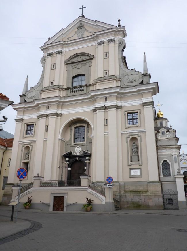 Vilnius' main cathedral.