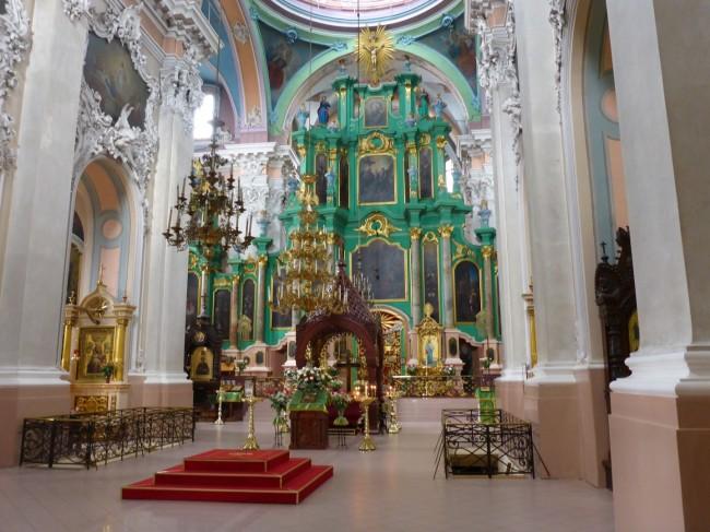 Colour Orthodox interior design.