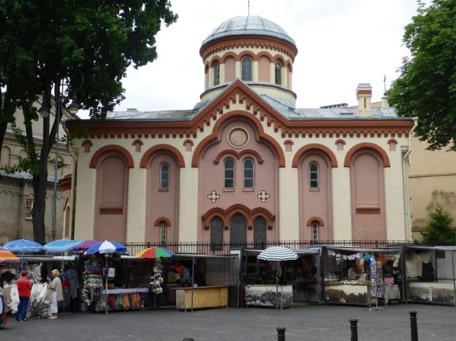 Russian Orthodox church of St Nicholas.