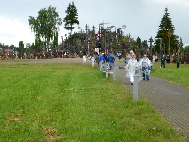 the 'Hill' of Crosses.