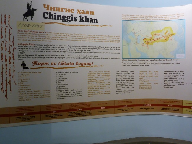 All about Chinggis Khan, the Main Man.