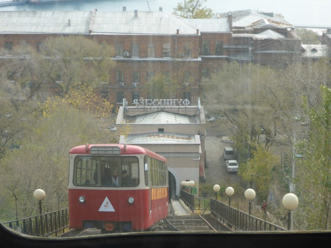 Neat little railway, funicular style.