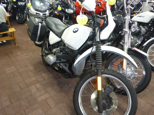 BMW R100GS. A rare beast in Japan.