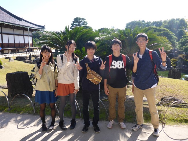 Peace loving Japanese youngsters. Friendly too.