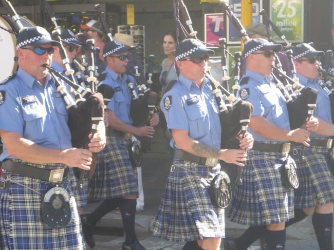 WA Police Pipe Band