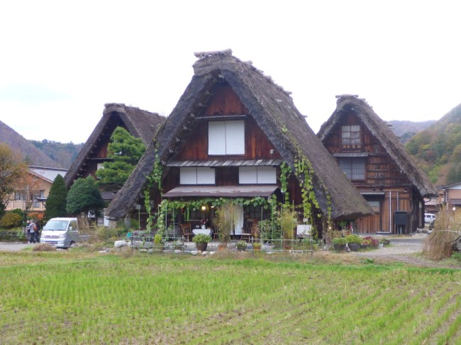 Houses in Ogimachi Village.