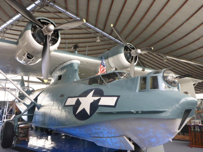WW2 Catalina Flying Boat.