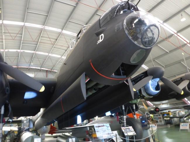 WW2 Lancaster bomber.
