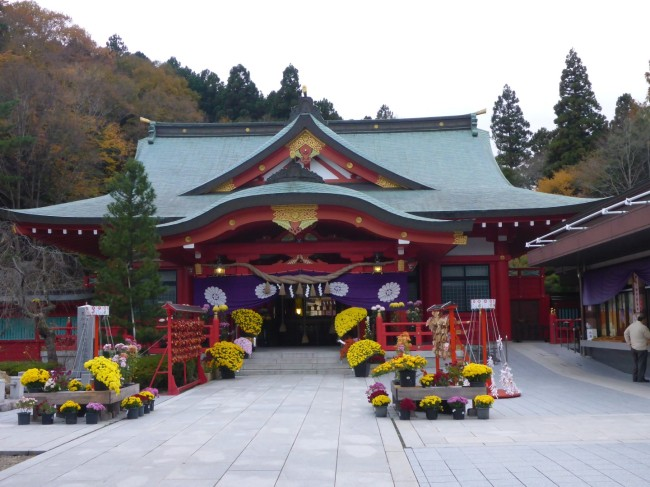 A shrine near to the museum.