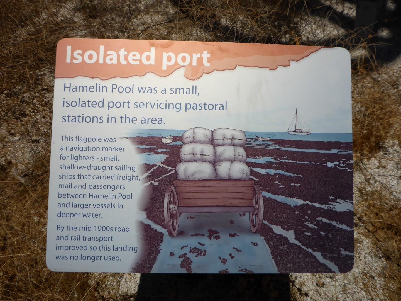 Hamelin Pool's settler history.