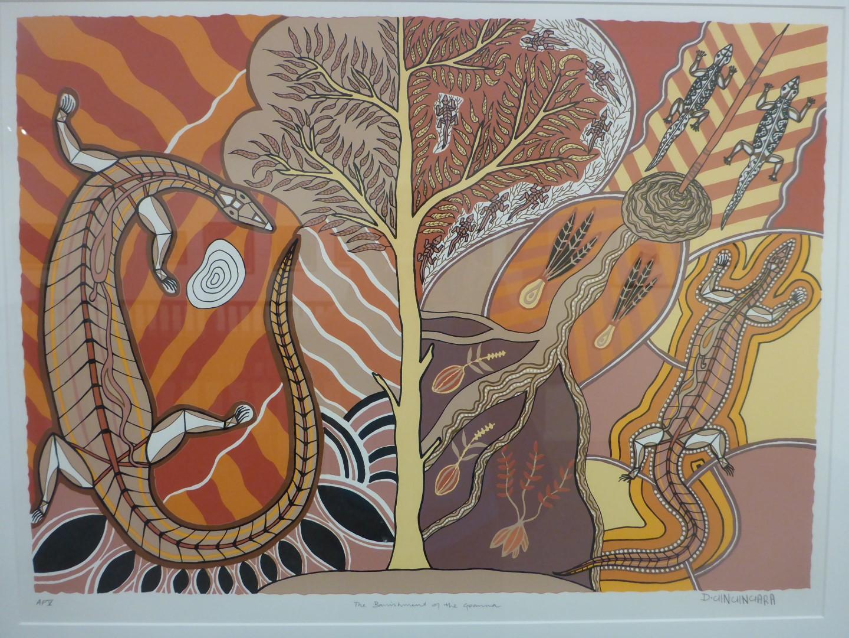 Modern artwork, indigenous style.
