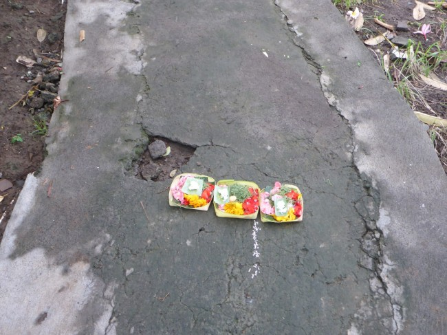 You see these offerings everywhere that people live.