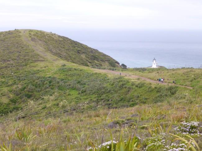 North Cape lighthouse.