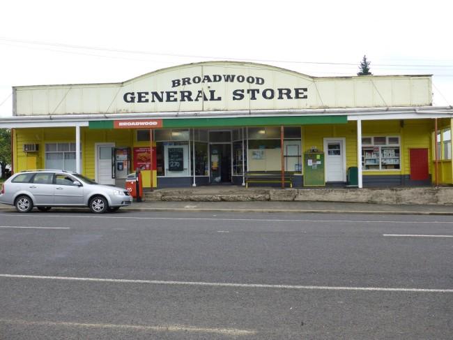 Quaint looking village general store.