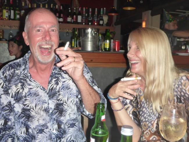 Phil and Trish.