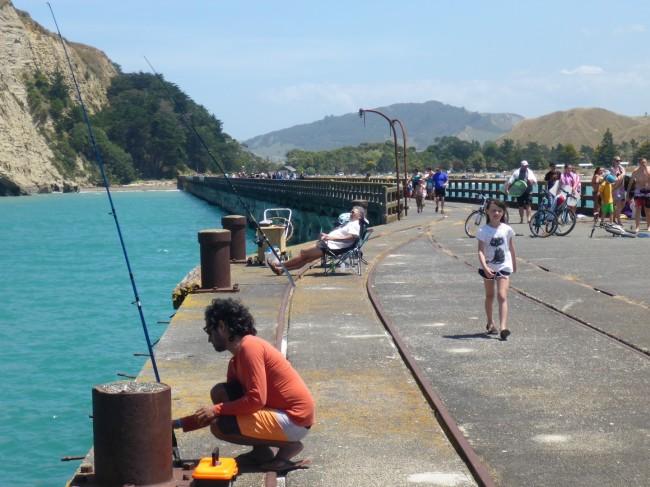 Talaga Bay wharf.
