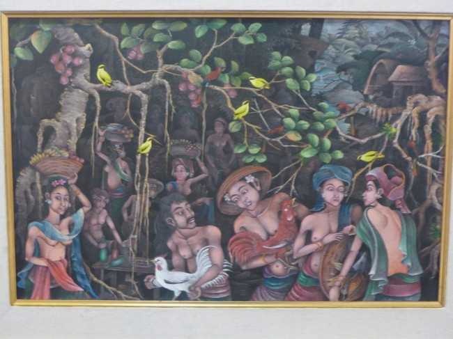 Old Balinese style of art.