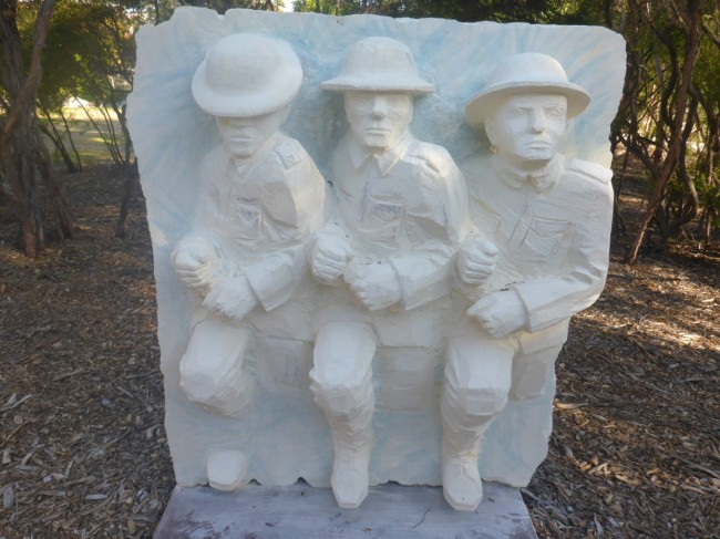 Dedicated to NZ's WW1 troops.