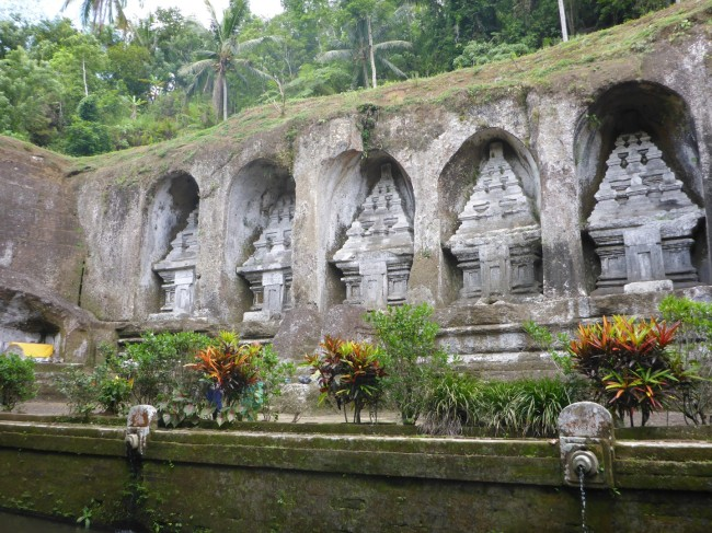 Shrines to the King and his family. Carved from the solid rock.